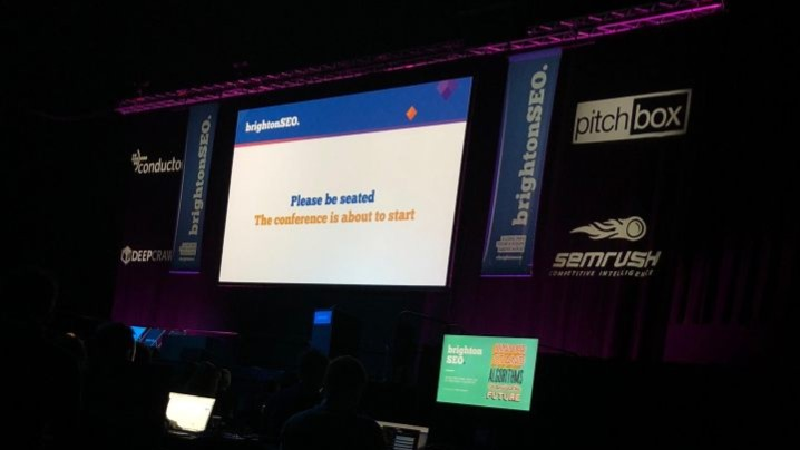 BrightonSEO Stage - morethanseo