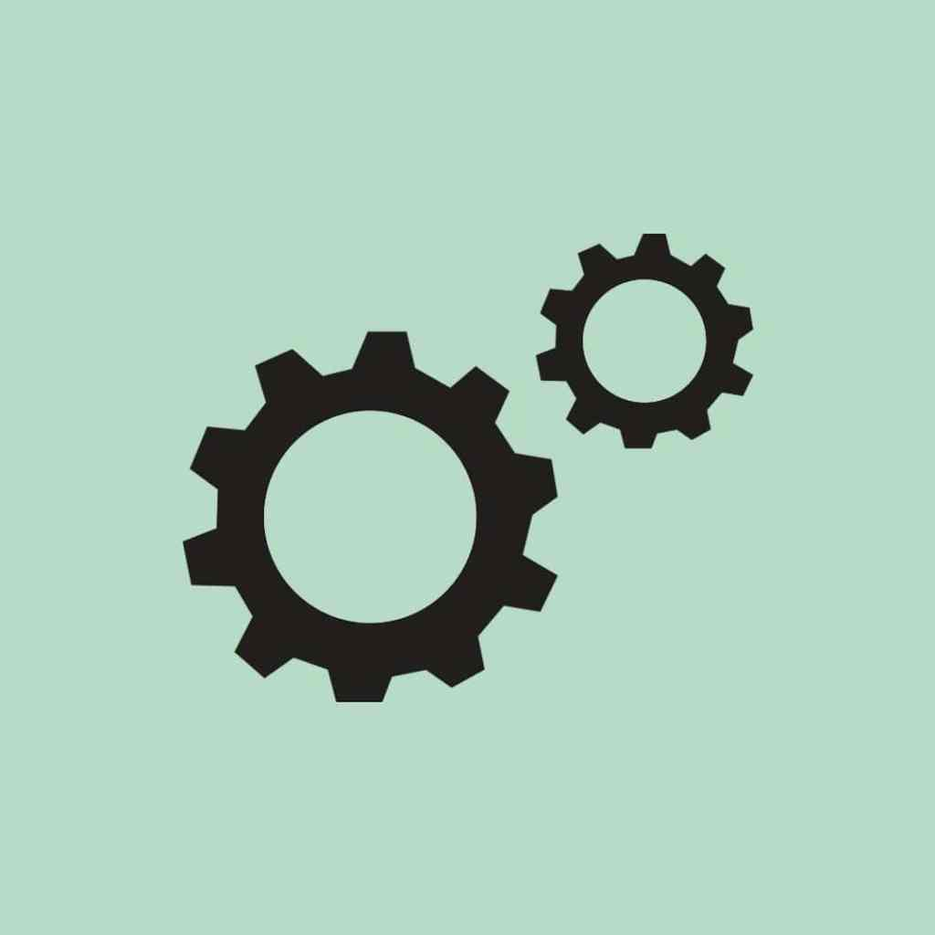 Technical SEO Cogs Icon - more than SEO