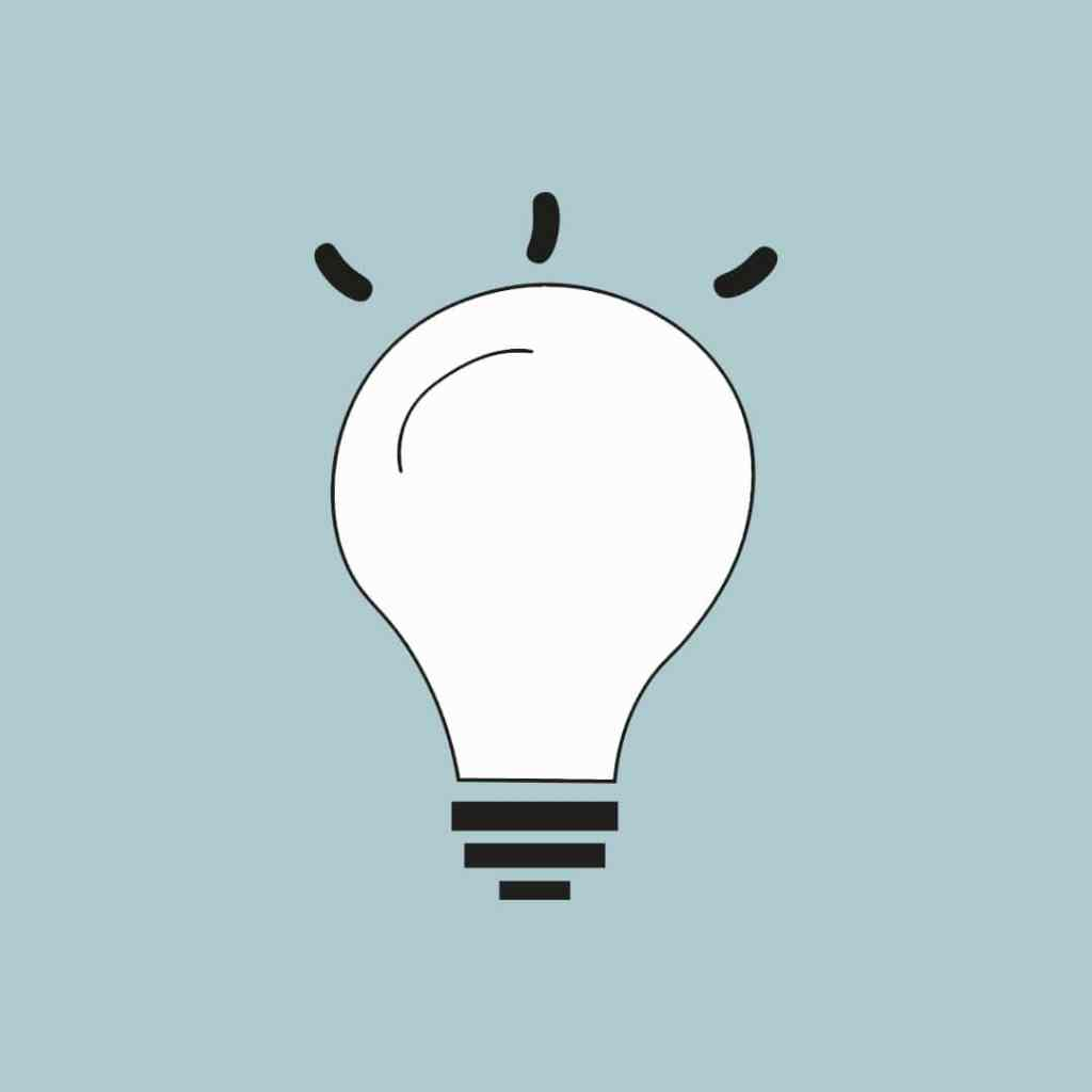 Light bulb icon - more than SEO